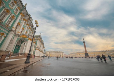 winter palace in the city of St. Petersburg. Russia. - Shutterstock ID 1771917008