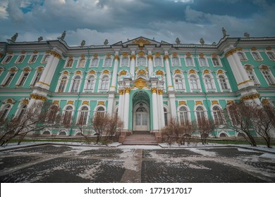 winter palace in the city of St. Petersburg. Russia. - Shutterstock ID 1771917017