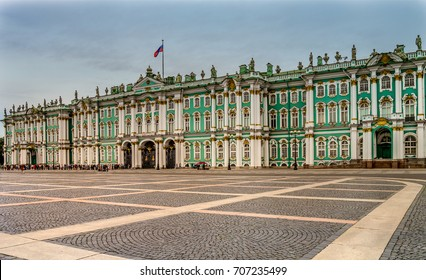 Winter Palace and Hermitage Museum, St Petersburg Russia