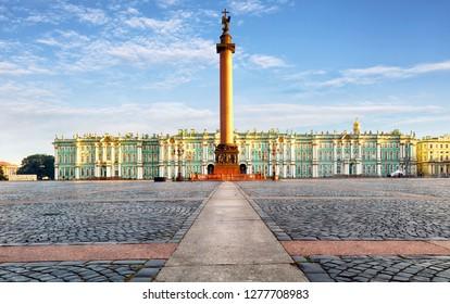 Winter Palace - Hermitage in Saint Petersburg, Russia