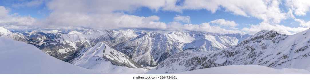 Winter panorama from the