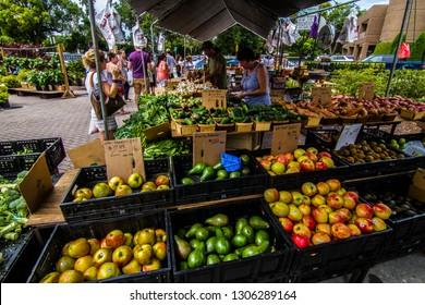WINTER PARK - FLORIDA - USA - 13-19-2015  - WINTER PARK FARMER'S MARKET