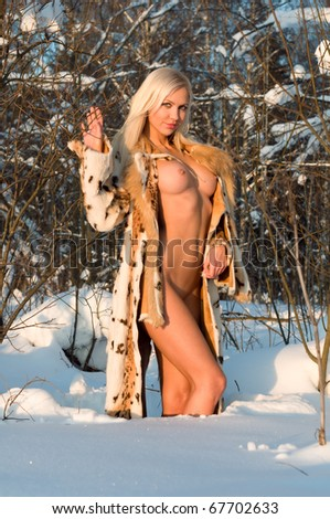 Really nude women in the winter ideal answer