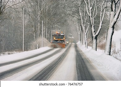 winter road clearance