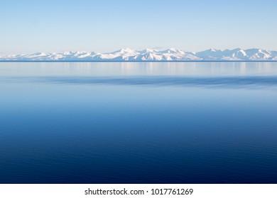 Winter seascape, Magadan