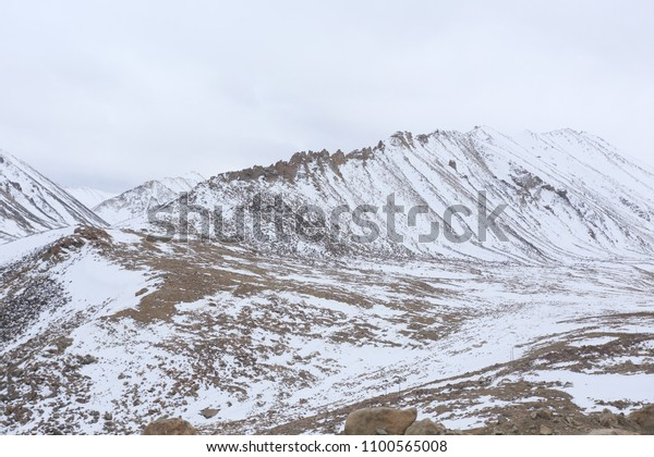 Winter Season Ladakh India Stock Photo (Edit Now) 1100565008