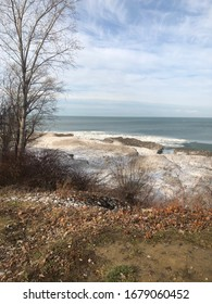 Winter Shot of Lake Eerie during the Day