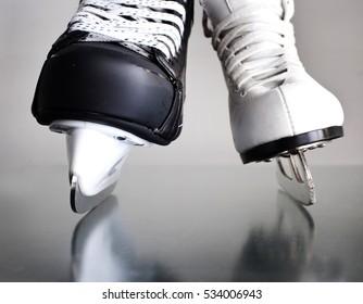 Winter. Skates.