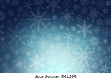 Winter: Snow background
