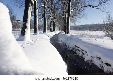 winter snow landscape nature