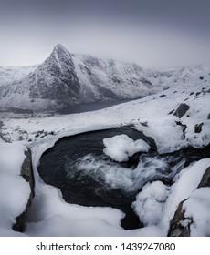 Winter in Snowdonia, United Kingdom