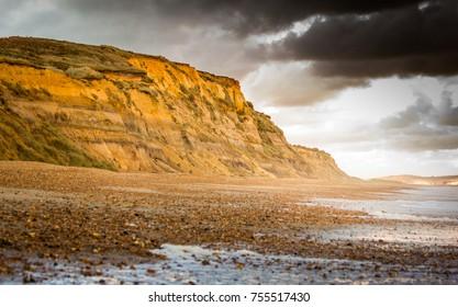 Winter Storm Over Hengistbury Head in Dorset