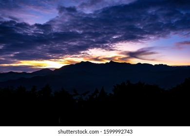 Winter Sunrise at Alisan Taiwan