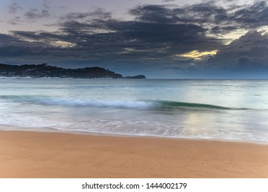 Winter Sunrise Seascape - Capturing the sunrise from Avoca Beach on the Central Coast, NSW, Australia.