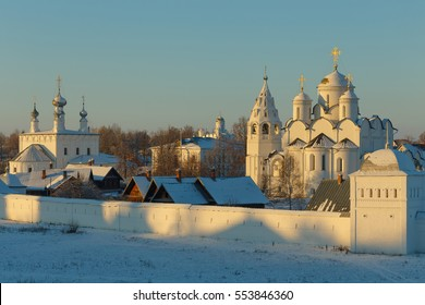Winter in Suzdal, Russia.