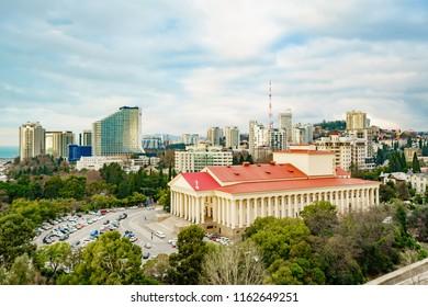Winter Theater in Sochi, Russia - Shutterstock ID 1162649251