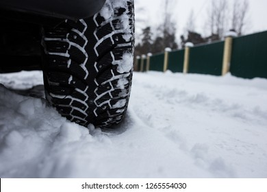 Winter tire with spikes