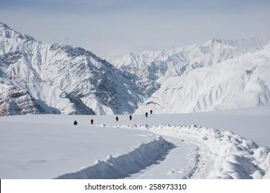 Winter Trekking in Spiti Valley, Himachal Pradesh, India
