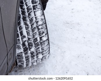 Winter tyres in the Snow