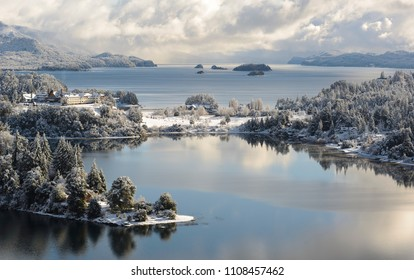 Winter Views  in San Carlos de Bariloche, Patagonia, Argentina