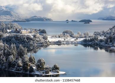 Winter Views  in San Carlos de Bariloche, Patagonia, Argentina