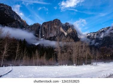 Winter vistas in Yosemite