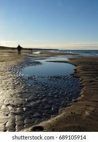 A Winter Walk at the Baltic Sea