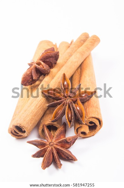 Winter warming spices - cinnamon, star anise.