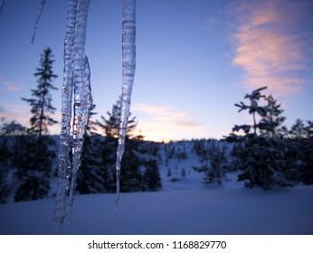 Winter wondeland in Norway