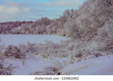 Winter Wonderland in Minnesota
