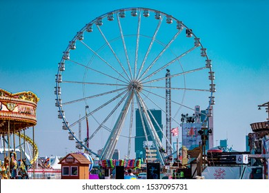 Winter wonderland in Riyadh Season 20 Oct 2019 Saudi arabia - General Authority for Entertainment - ferris wheel