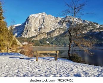 Winterlandscape in the austrian Alps