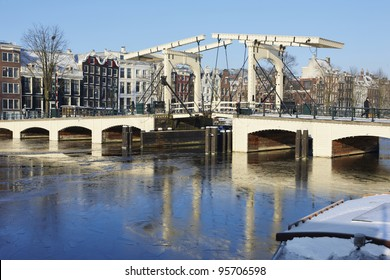Wintertime in Amsterdam, Netherlands