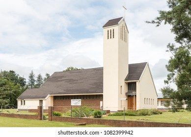 WINTERTON, SOUTH AFRICA - MARCH 18, 2018: The Lutheran Church in Winterton in the Kwazulu-Natal Province