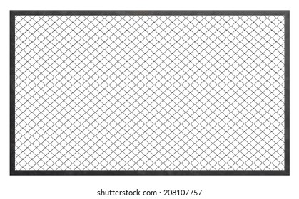 Wire fence barrier