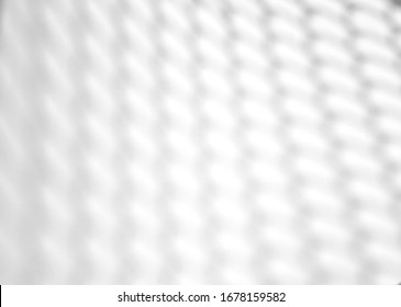 Wire mesh natural shadow overlay effect on white texture background, for overlay on product presentation, backdrop and mockup