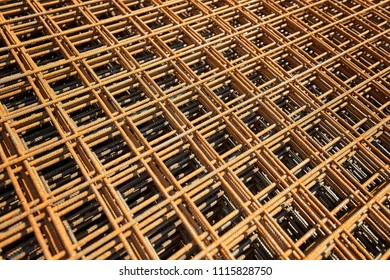Wire mesh steel Rebars for reinforced concrete - Rebar Reinforcing Wire Construction.