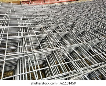Concrete Reinforcing Mesh Images, Stock Photos & Vectors