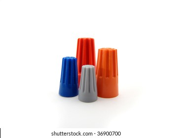 Wire Nuts Images, Stock Photos & Vectors | Shutterstock Wiring Nuts on home wiring, aluminium wire, canadian electrical code, power cable, electrical wiring in north america, western union splice, screw terminal, mineral-insulated copper-clad cable, knob and tube wiring, electrical wiring, electrical connector, electrical conduit, crimp connection, rat-tail splice, crocodile clip, ac power plugs and sockets,