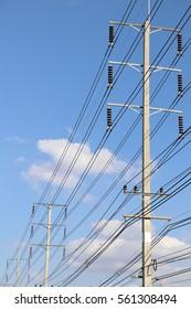 wire pole selective focus