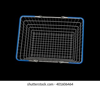 wire shopping basket