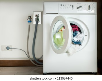 wired washing machine