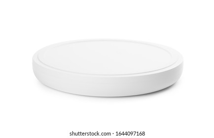 Wireless charger isolated on white. Modern technology