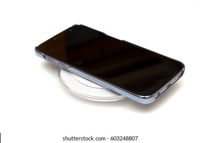 Wireless charging cell phone