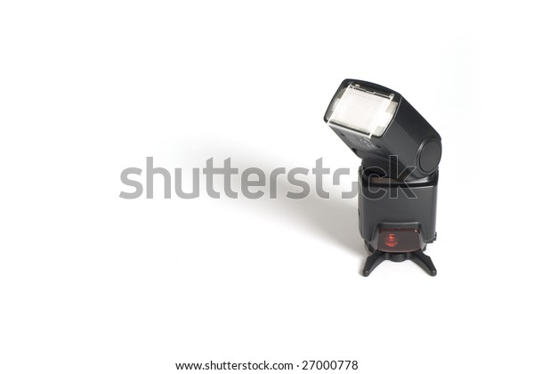wireless flash with orientable head