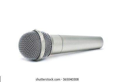 a wireless microphone on a white background