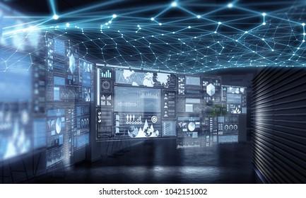 Wireless technologies concept