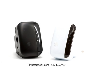 Wireless WiFi Repeater for your home network on a white background