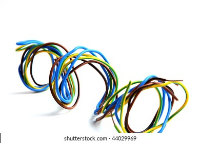 wires of different colors