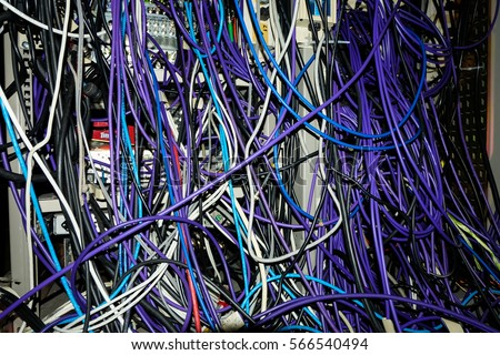 Admirable Wires Online Network Panel Switch Cable Data Stock Photo Edit Now Wiring 101 Mecadwellnesstrialsorg